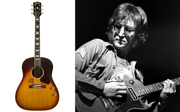 John Lennon's guitar sells for £1.7million