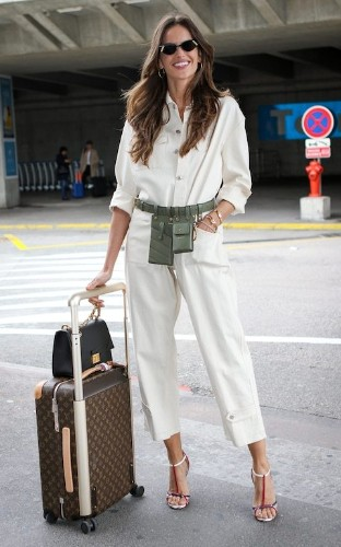 The practical way to master chic airport style