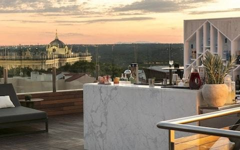 Madrid's most romantic hotels, from rooftop bars at sunset to room service