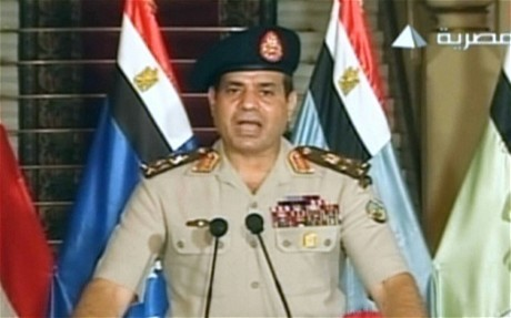 Egypt crisis: mass arrest of Muslim Brotherhood leaders as army takes firm grip