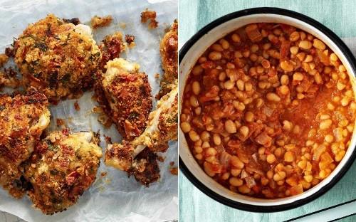 Stephen Harris' KFC and smokey beans