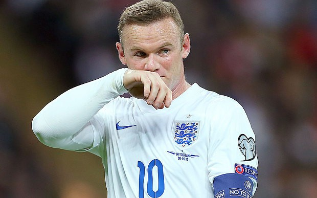 Wayne Rooney ruled out of England's Euro 2016 qualifier against Estonia