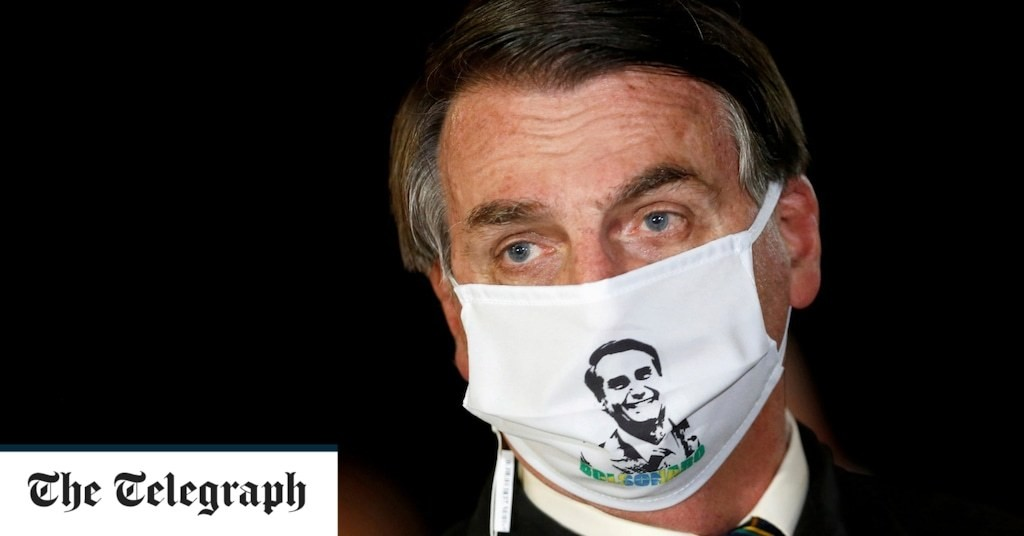 Bolsonaro tests positive for coronavirus