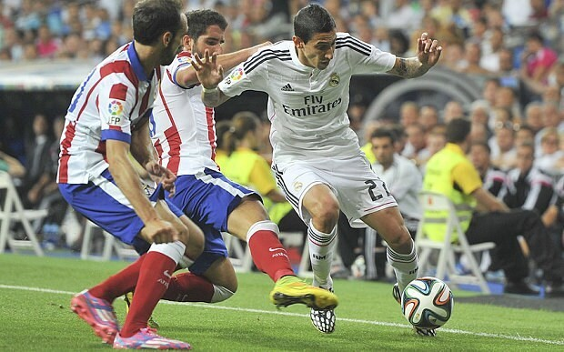 Real Madrid shouldn't sell Angel di Maria to Manchester United or PSG, he's their best player, says Diego Simeone