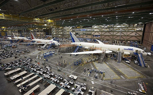 Boeing's new 787 Dreamliner lifts off in near-vertical ascent