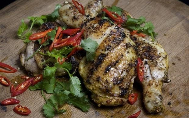 Tandoori-style chicken legs recipe