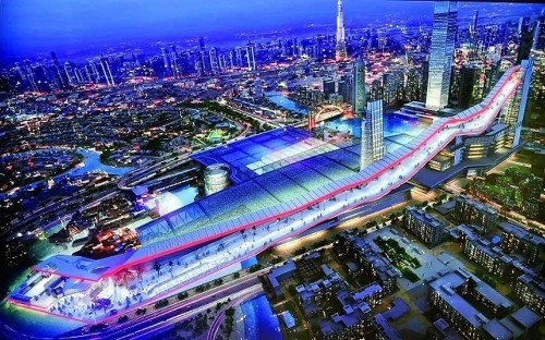 Dubai to build world's longest indoor ski slope