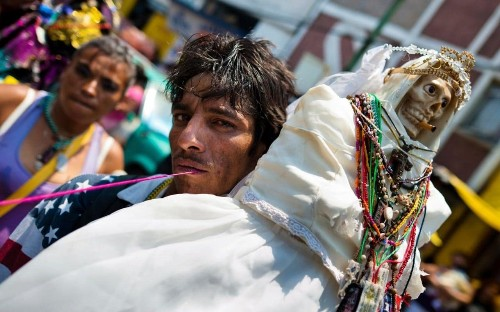 La Santa Muerte: 'Patron saint of Narcos' rattles the Catholic Church