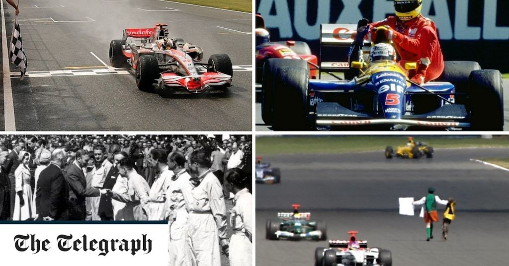 Formula One is 70: Remembering King George VI turning up, Ayrton Senna hitching a lift and an Irish priest in a kilt
