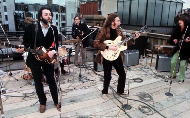 When The Beatles played their last live gig
