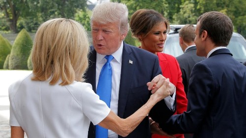 Donald Trump given etiquette advice by Reebok sports company
