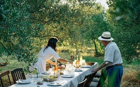 A delicious summer lunch menu from Provence