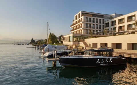 Luxury on the lake: the newly opened Alex hotel brings five-star pizzazz to Zurich's waterfront