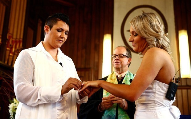 New Zealand holds its first same sex weddings