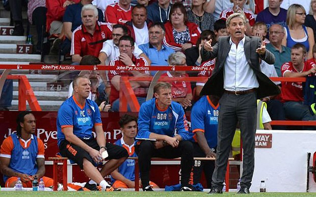 Jose Riga puts brave face on player registration shambles that marred Blackpool's opening day defeat