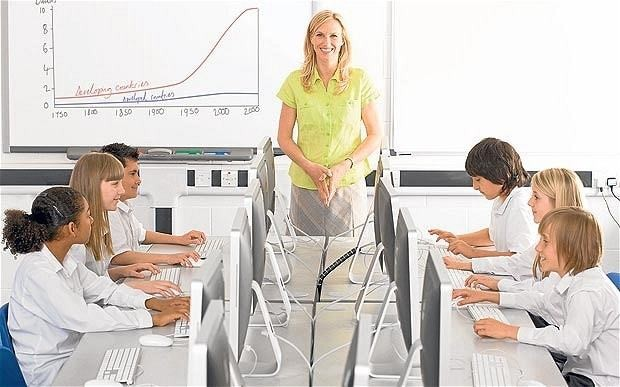 Classroom technology 'rarely used' by half of teachers