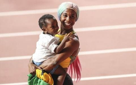 Shelly-Ann Fraser-Pryce exclusive interview: 'Everyone said I would retire after I had a baby'