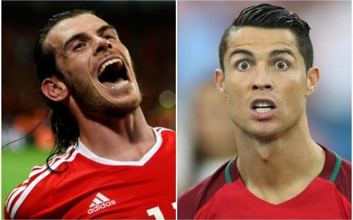 Cristiano Ronaldo and Gareth Bale prepare for Lyon semi-final showdown