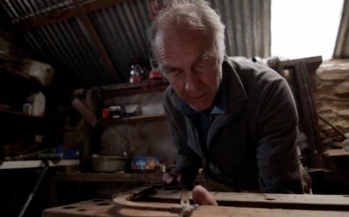 Sir Ranulph Fiennes recreates moment he sawed off his frostbitten fingers for new documentary
