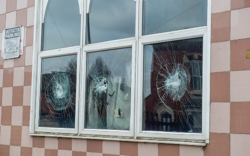 Two men arrested after Birmingham Mosque hammer attacks