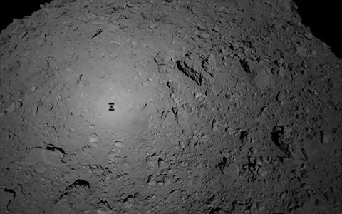 Japanese probe touches down on asteroid in hunt for clues about origin of life