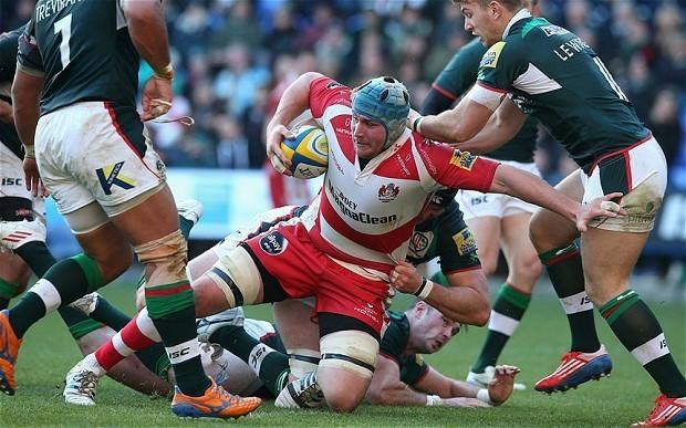 Gloucester and England strong man Ben Morgan ready to rumble again