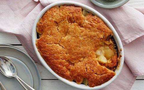 Pear cobbler recipe