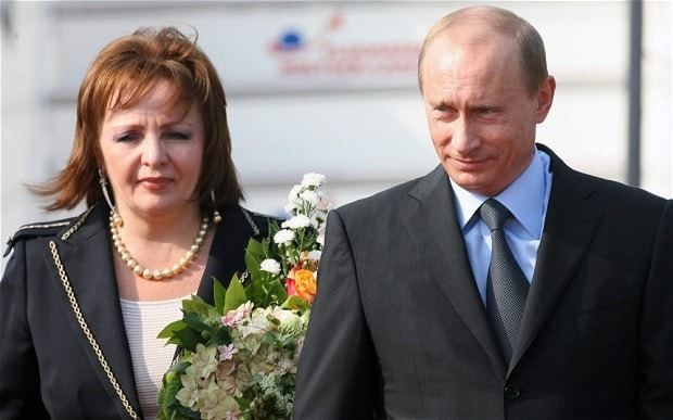 Vladimir Putin finalises divorce