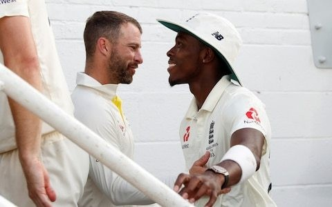 'We look forward to the rest of his journey': Jofra Archer's 95.6mph duel with Matthew Wade sets tone for next Ashes series
