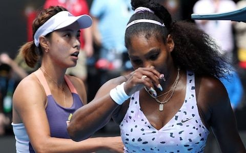 Serena Williams prepared to wait until Wimbledon to break Margaret Court's grand-slam record