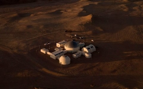China builds Mars base in Gobi desert to show citizens future in space