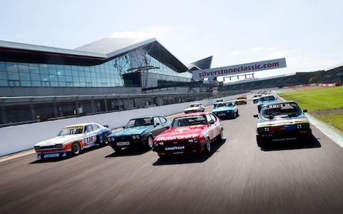 50 years of the Ford Capri: celebrating 'the car you always promised yourself' at Silverstone Classic