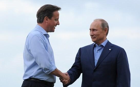 Denounce illegal Ukrainian elections and avoid 'frozen conflict', David Cameron tells Vladimir Putin