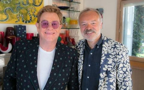 Elton John: Uncensored review - Rocket Man's interview with Graham Norton failed to hit the heights