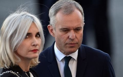 Macron's environment minister resigns amid public outrage over lobster supper and golden hairdryer