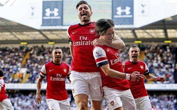 Tottenham Hotspur 0 Arsenal 1: match report