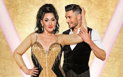 Under the Strictly glitterball with Michelle Visage: 'I send my husband pictures of me grinding on Giovanni'