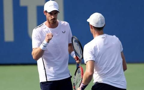 Murray brothers Andy and Jamie beat French pair on tie-break decider to reach Citi Open quarter-finals