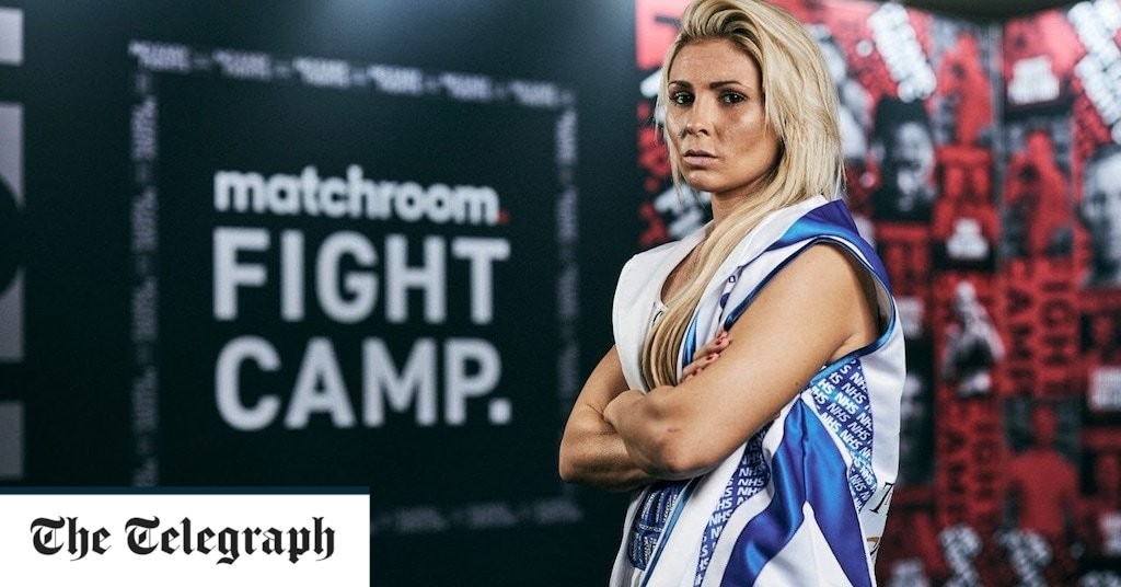 Shannon Courtenay's lockdown premonition becomes reality with fight in Eddie Hearn's back garden
