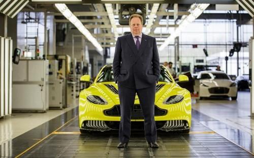 Aston Martin's boss on the secrets to the luxury car brand's success