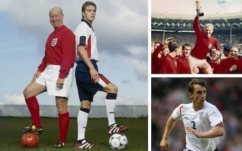 Telegraph readers have picked their all-time greatest England XI ahead of the Three Lions' 1,000th international - here are the results