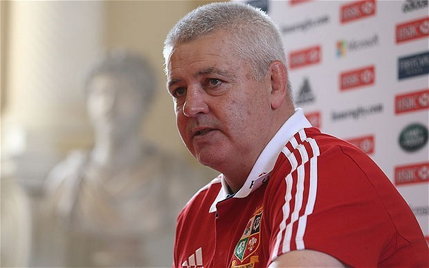 British and Irish Lions 2013: players who have finished season will have Test advantage, says Warren Gatland