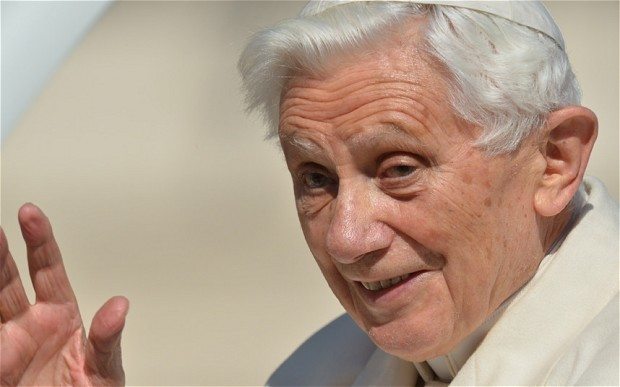 Pope Benedict 'has lost half his weight'