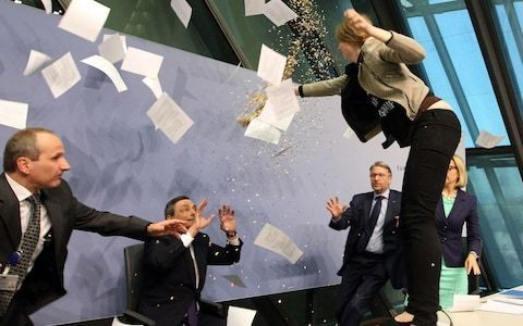 Should you back European stocks amid change at the central bank?