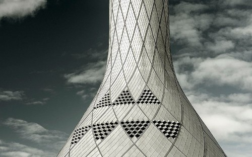 The world's most beautiful airport control towers