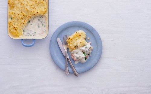 A simple and tasty fish pie that delivers