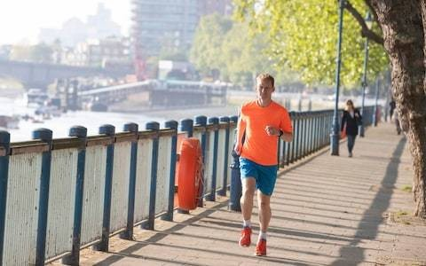 Meet James Williams, the man who runs a marathon every day... before work
