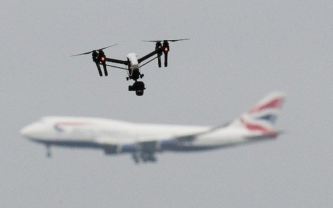 Rogue drones to be targeted by new hi-tech 'detect and destroy' unit set up by Home Office