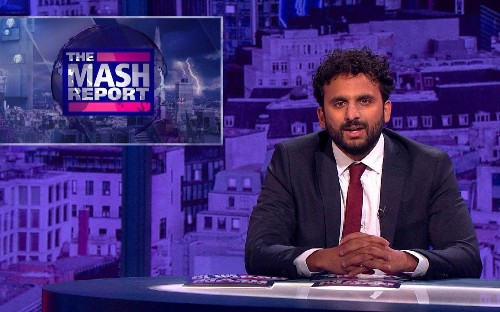 BBC star Nish Kumar on polarised politics: 'I worry I'm making things worse'