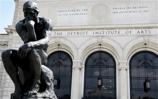 Detroit bankruptcy puts $2.5 billion city art collection under threat as legal battle gathers pace